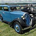 Fiat 508 Balilla berline 4 portes, 1932  1937