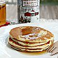 Pancakes au sirop d'érable {recette}
