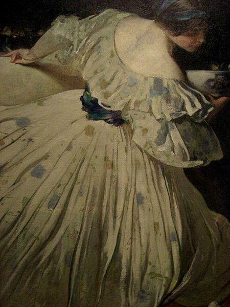John White alexander the blue bowl 1898