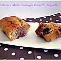 Cake aux mûres sauvages cannelle gingembre