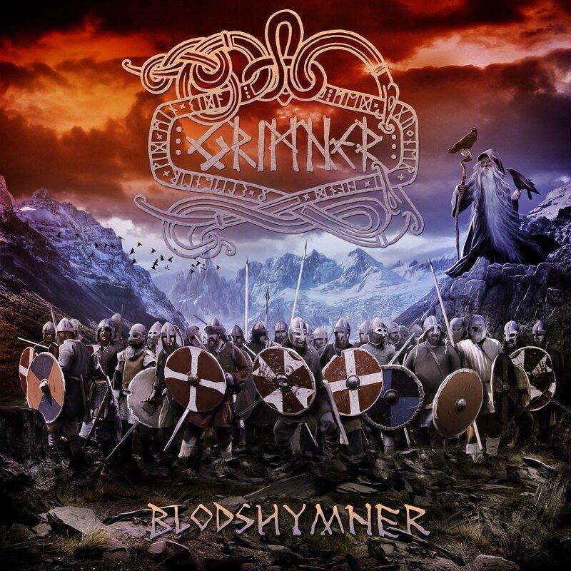 Grimner - 2014 - Blodshymner 1 Front