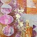 N°131 - 134 monoprints douceur / soft monoprints