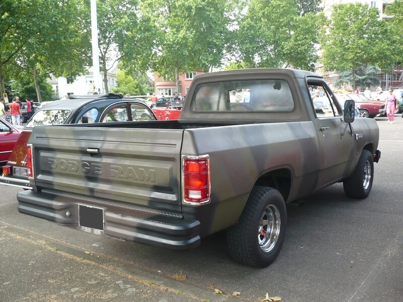 DODGE Ram Custom 2door pick-up Strasbourg (2)