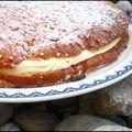 La tarte tropézienne (ou le clin d'oeil à bardot)