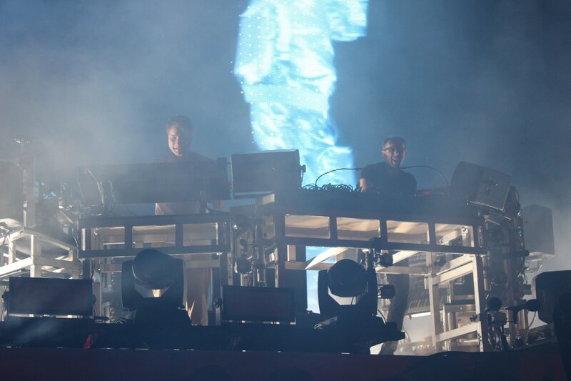 Glastonbury festival J+4 dimanche 28 juin 2015 Other Stage The Chemical Brothers