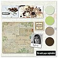 Kit atelier multi pages de septembre de sylvie