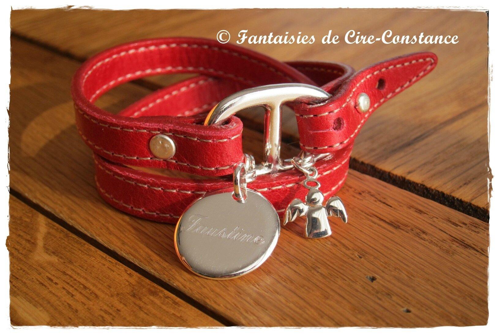 """Bracelet """"Malaga"""" argent massif"""
