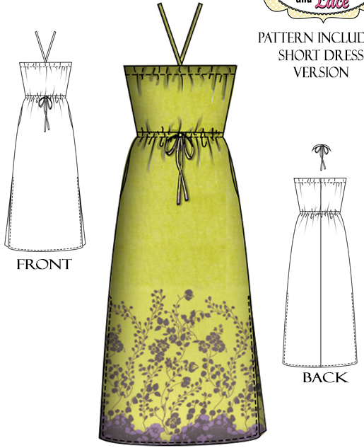 Wil Lily and Lace - Strapless Dress