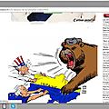 Caroline fourest diffuse un dessin de carlos latuff, caricaturiste promu par soral et récompensé par le régime iranien