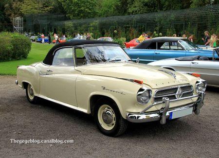 Borgward isabella cabriolet de 1959 (9ème Classic Gala de Schwetzingen 2011) 01