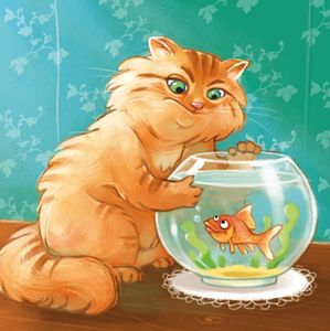 10-poisson bocal chat qui regarde