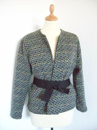 burda modle veste boite tweed2