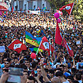Mouvement au maroc