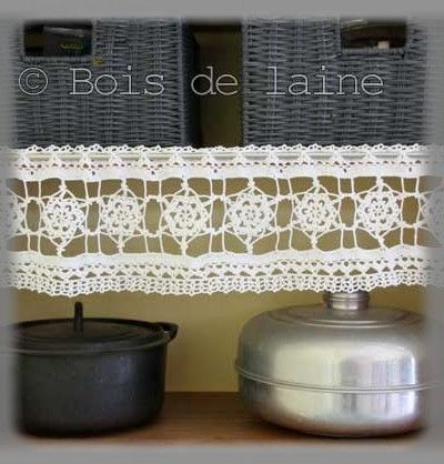 d co au crochet album photos bois de laine. Black Bedroom Furniture Sets. Home Design Ideas