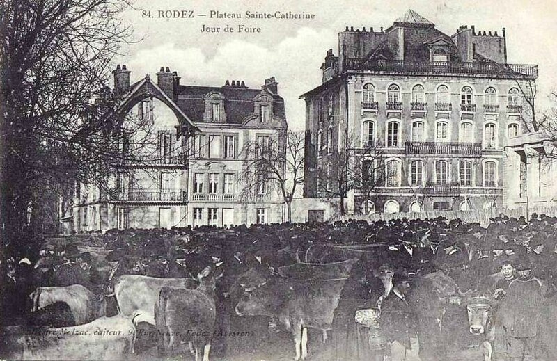 CPA Rodez Foire Ste Catherine