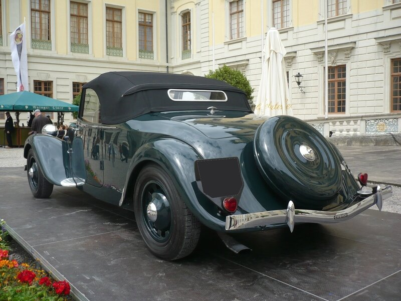 CITROËN Traction Avant 15 Six roadster 1939 Ludwigsburg (2)