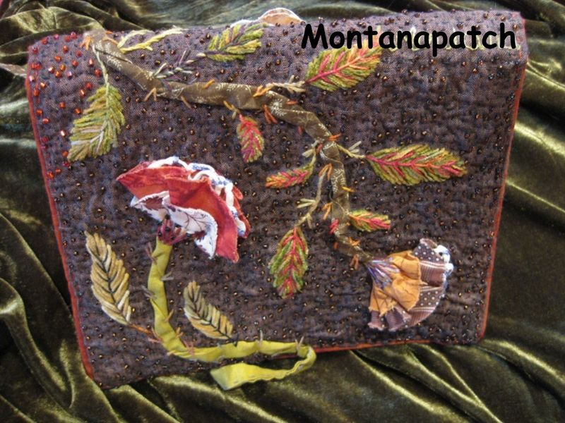 Montanapatch carnet Léa n° 15