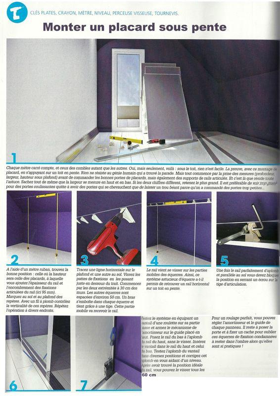 Monter un placard sous pente astuces et conseils d 39 architecte d 39 int - Comment faire un placard sous escalier ...