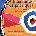 Les littératures périphériques
