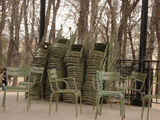 le jardin du luxembourg surtout les chaises photo de 2008 paris janvier rue fourneau. Black Bedroom Furniture Sets. Home Design Ideas
