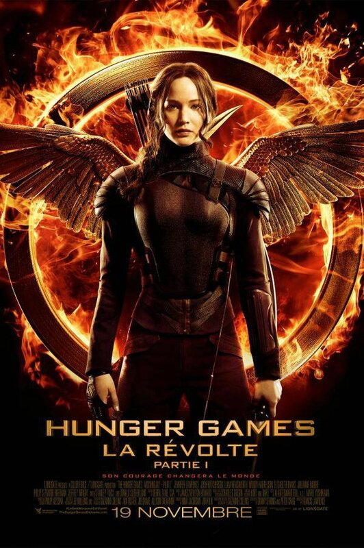 Mockingjay Part 1 final Poster VF