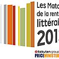 Match littéraire priceminister 2013