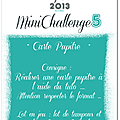 Mini challenge n°5 by cigalon