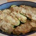 Courgettes farcies express à la viande et au parmesan