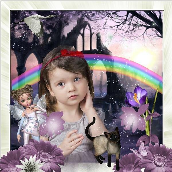 Flomelle - fairy's world - page de Géraldine