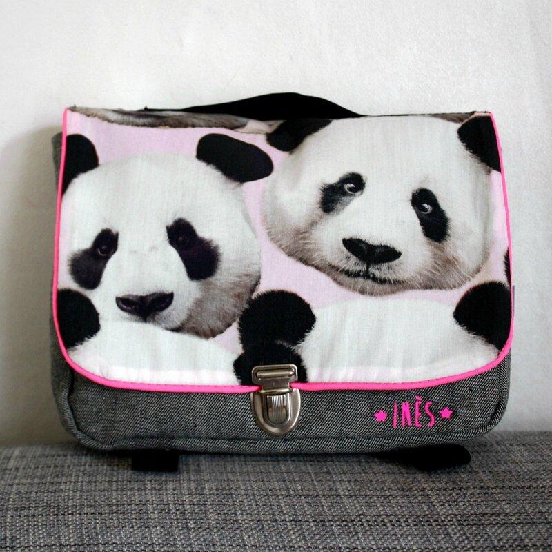cartable maternelle enfant panda