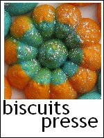 biscuits presse colorés citron index