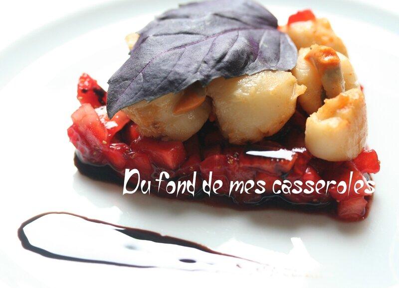 fraise saint jacques