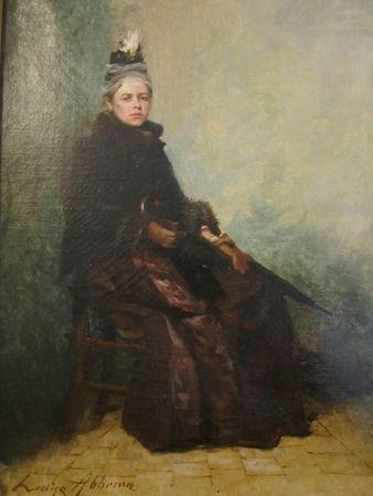 Sarah Bernhardt dans le rôle d'Adrienne Lecouvreur vers 1884-1887