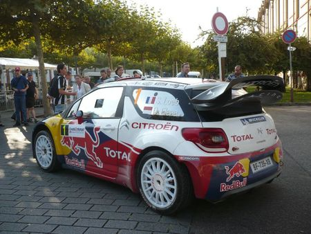 CITROËN DS3 WRC n°1 Rallye de France-Alsace illkirch (2)