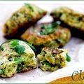 Falafels de soja vert à la coriandre