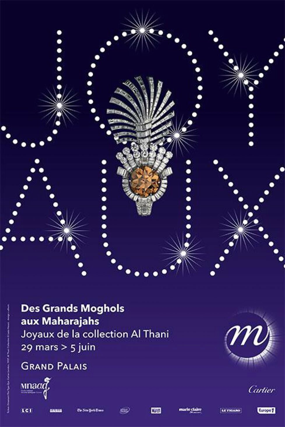 """Des Grands Moghols aux Maharadjahs. Joyaux de la collection Al Thani"" au Grand Palais"
