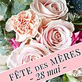 Bientôt le 28 mai: la fête des mères approche... 💐🌹