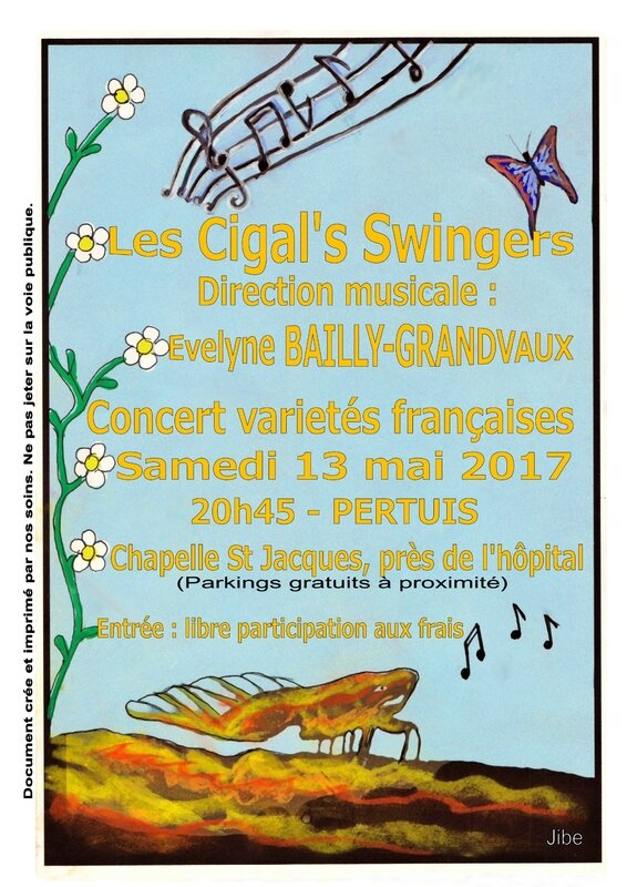 Concert Cigal's Swingers 13 MAI 2017