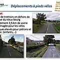 Qualité de vie à brindas - déplacements à pied et à vélo