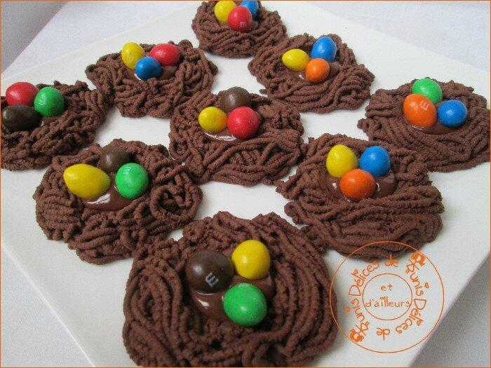 Nids chocolat aux oeufs M&M's 2