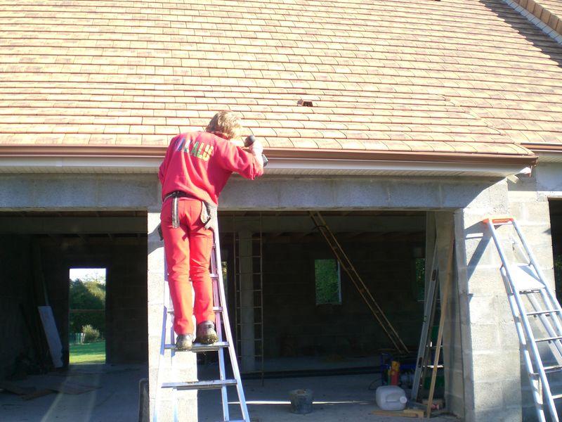 Les goutti res construction de notre maison for Budget construction maison par poste