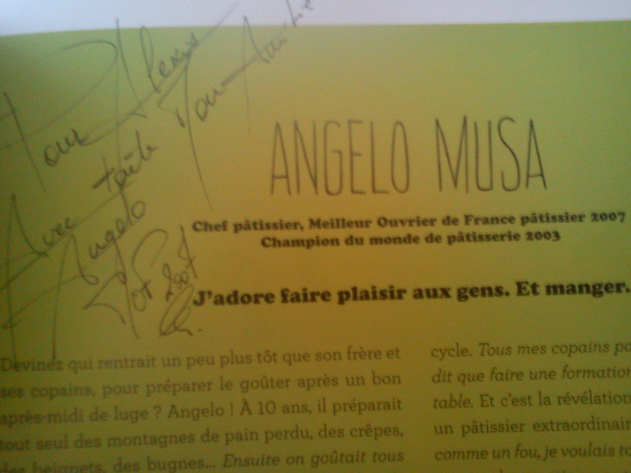 autographe angelo