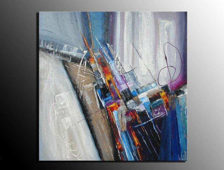 toile abstraite 1