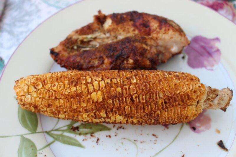 épis maïs barbecue