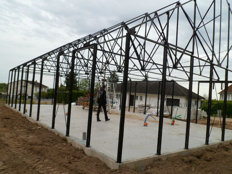 La structure m talique notre maison ph nix cote d 39 or for Maison phenix var