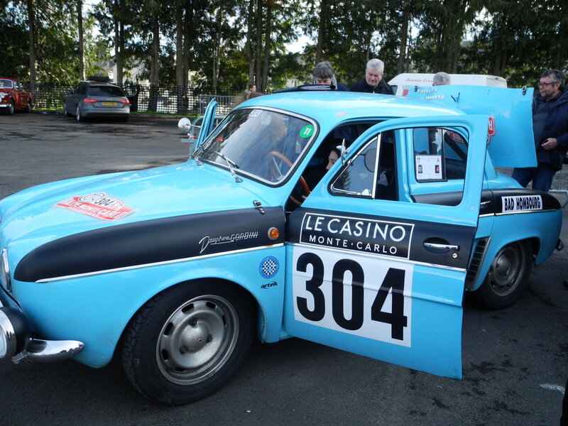 rally monte carlo historique 2016 n 304 renault dauphine gordini 1964 auto passion vh. Black Bedroom Furniture Sets. Home Design Ideas