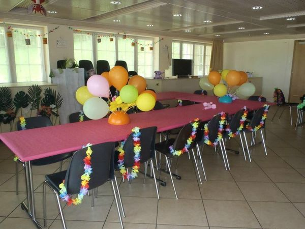 anniversaire th me hawa happy days party creations. Black Bedroom Furniture Sets. Home Design Ideas