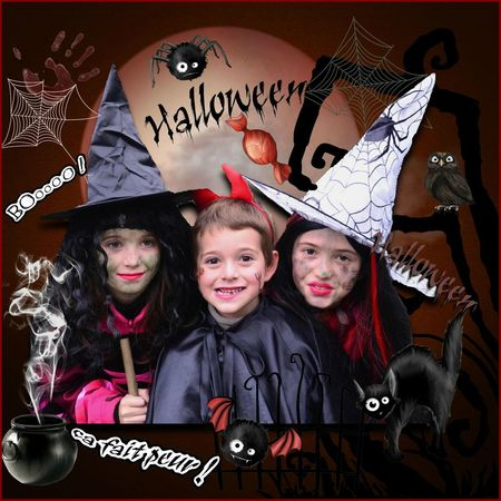 halloween les 3 petits diables
