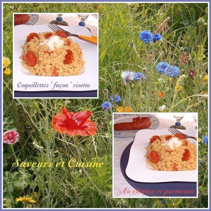 Coquillettes façon risotto et parmesan