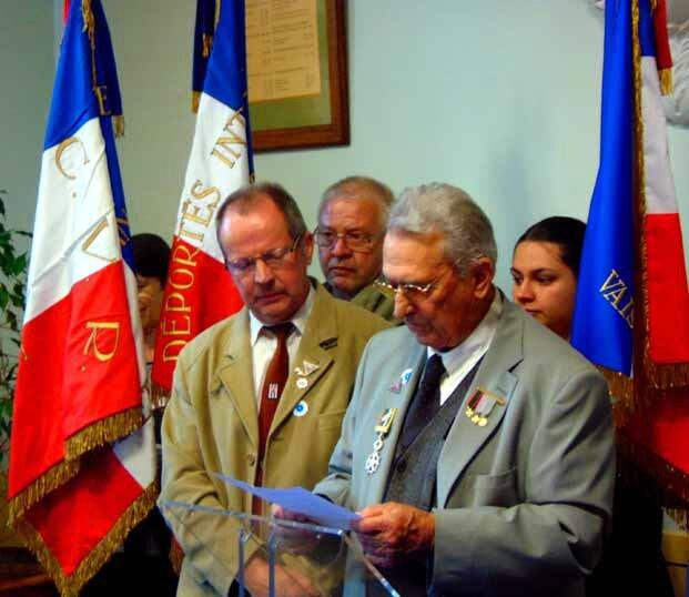 Mr André ALAZARD, Résistant Maquis Vasio, Sablet-le 11 Novembre 2015
